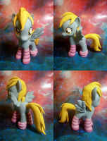 Derpy Hooves With Socks by mooncustoms