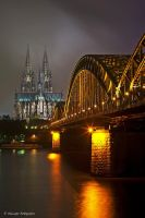 Cologne Dom by Aphantopus