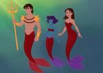 Jayko and Bianca as Merfolk by Jayko-15