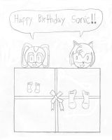 Sonic's early birthday present by aldo947