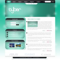 Cyber - Site design. by SpecNa