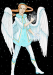 Young Archangel by Galadreamerinn