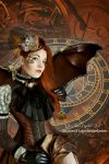 Steampunk Lady portrait by JiaJenn31