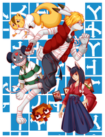 Summer Wars - Road Map by BakaNekoSango