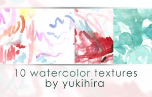 Watercolor Textures by yukihira