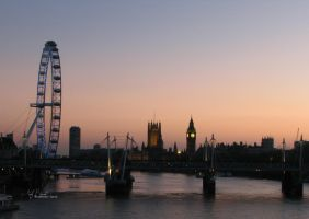 Westminster sunset 1 by Topaz172