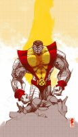 Colossus sketch by nelsondaniel