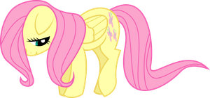 Fluttershy Being Shy by FonyPony