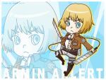 Armin Arlert Wallpaper by 0ffie