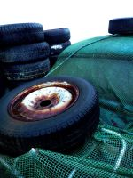 Tyre Stack by madaboutvampires