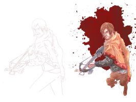 Daryl Dixon by sequentialartist