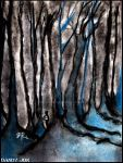 A Dream of Tall Blue Trees by Dandy-Jon