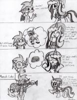Coal's Lesson On Santa Hooves by ShowtimeandCoal