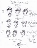 Facial Styles Guide (with Scout) by RusticScout