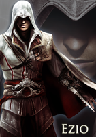 Ezio A4 poster by englishlioness