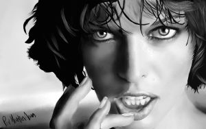 Milla Jovovich by periwii
