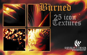 Burned Icon Textures by spiritcoda