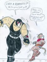 El Tigre vs Bane by Jose-Ramiro