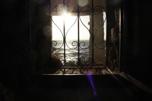 The window on the sea by panys