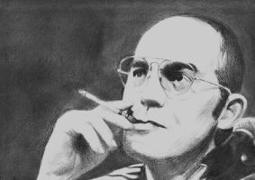 Hunter. S. Thompson by tomwright666