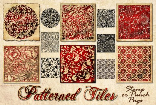 Patterned Tiles by auRoraBor