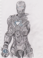 Iron Man incomplete by Fylv