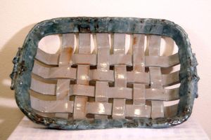 Weaved platter by Recycled-Oxygen