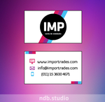 Importrades - Bussiness Card by RVNGdesign