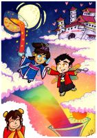 Makorra Week - Fantasy by arch-nsha