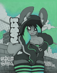 ~ Robbi Rabbit ~ by SCIFIJACKRABBIT