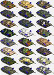 AMX-30 Cammoflague variations by 1Wyrmshadow1