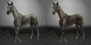Red Dead Redemption Sick Horses by ArmachamCorp