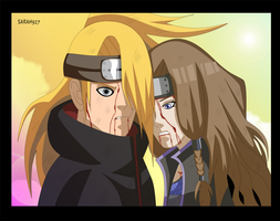 Deidara and Akina Save Me by Sarah927