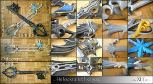 :: Oathkeeper And Oblivion :: by Anti-Roxas-99