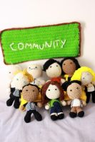 Community TV Series Dolls! by Nissie