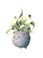 Fat Oddish by Aetharius