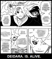 Deidara is Alive by LadyQuintessence