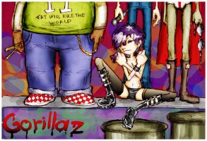 Gorillaz 2 by cat-in-the-junk