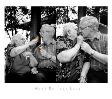 Must Be True Love by tracieteephotography