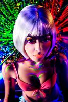 UV Galactic Girl by andreaperrybevan
