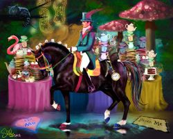 Totilas in Wonderland by shilohs