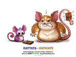 Rattata - Raticate by Cryptid-Creations