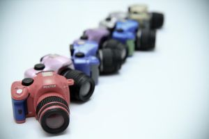 Pentax K-x Miniatures Take 3 by otaru23
