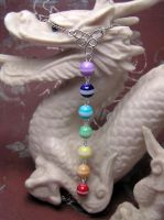 Chakra Necklace by lavadragon