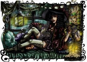 Captain Hook (color) by dorothylove