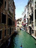 Venician Canal by fantasy-flower