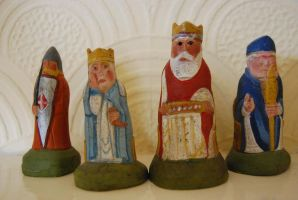 Isle of Lewis Chess Set by mr-macd