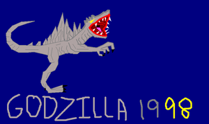Zilla made on paint by bagan-x-godzilla