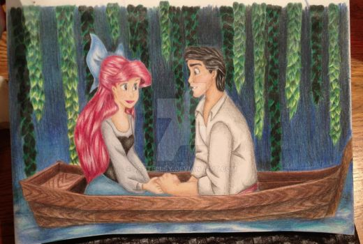 Ariel and Eric - Anticipation by SASteelsy