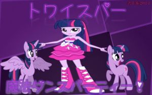 Twilight Sparkle's Magical Dance Party by j4lambert